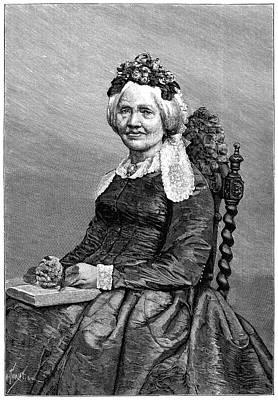 Climber Painting - Henriette D'angeville (1794-1871) by Granger