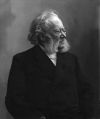 Albert Bierstadt - Henrik Ibsen by Celestial Images