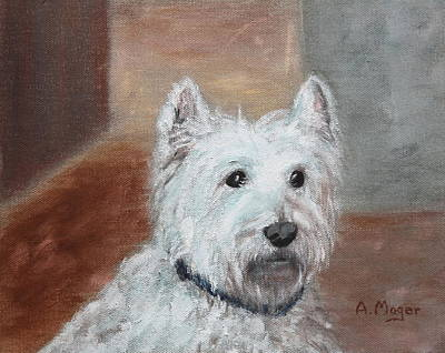 Painting - Henry by Alan Mager