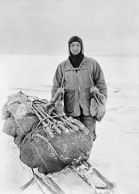 Balaclava Photograph - Henry Bowers by Scott Polar Research Institute