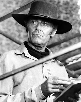 Henry Fonda Photograph - Henry Fonda In C'era Una Volta Il West  by Silver Screen