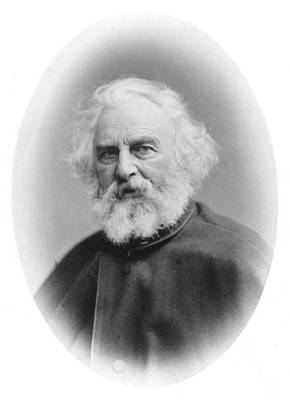 Henry Wadsworth Longfellow (1807-1882) Art Print by Granger