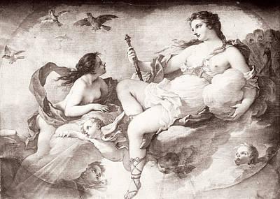 Hera Painting - Hera/juno by Granger