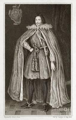 Herbert Of Cherbury, English Philosopher Art Print