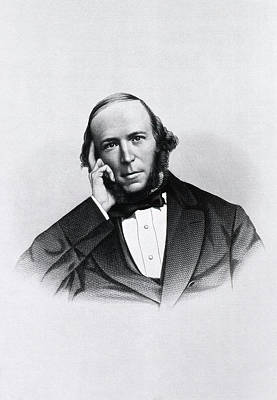 Herbert Spencer Art Print by National Library Of Medicine