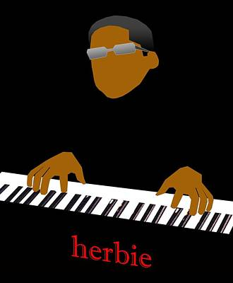 Digital Art - Herbie Hancock by Victor Bailey