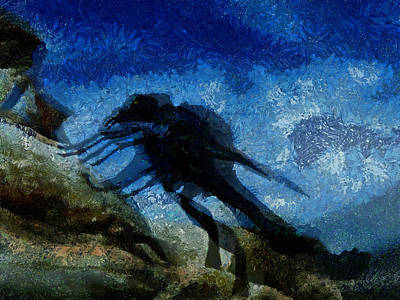Imp Digital Art - Here Comes The Night by Steve Taylor