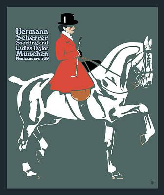 Hermann Scherrer Art Print by Gary Grayson