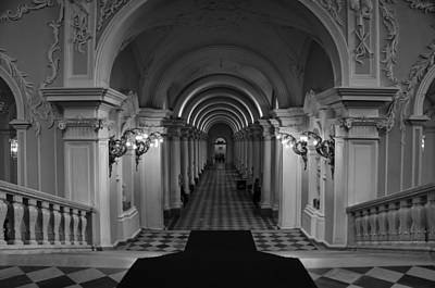 Photograph - Hermitage Museum by Tin Lung Chao