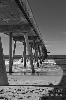 Photograph - Hermosa Beach Pier by Ana V Ramirez