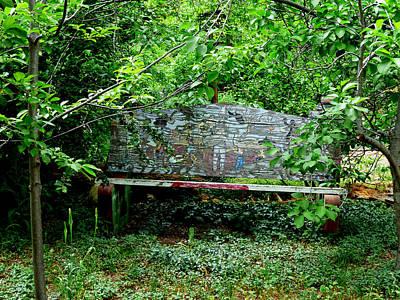 Photograph - Hidden Bench by Thomas Samida