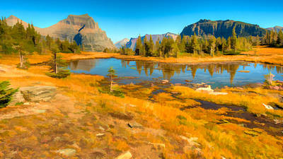 Photograph - Hidden Lake Trail Glacier National Park by Brenda Jacobs