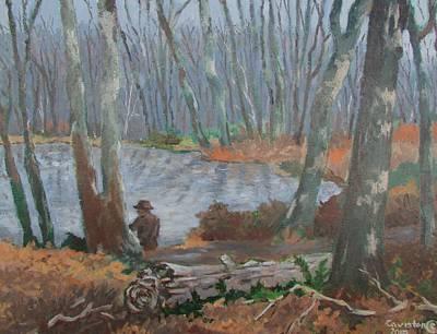 Art Print featuring the painting Hidden Treasure by Tony Caviston