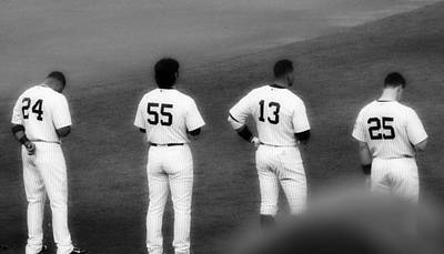 Yankees Photograph - Hideki Matsui Leads A Championship Lineup by Aurelio Zucco