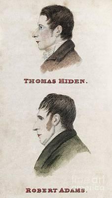 Hiden And Adams, British Conspirators Art Print