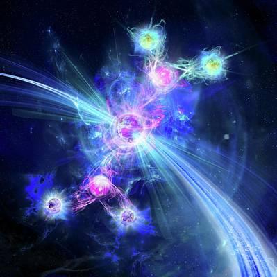 Higgs Boson Art Print by Harald Ritsch