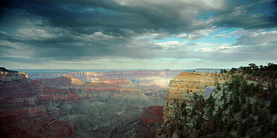 Grand Canyon Photograph - High Angle View Of A Canyon, Angels by Panoramic Images