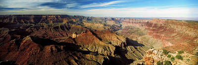 Grand Canyon Photograph - High Angle View Of A Canyon, Grand by Panoramic Images