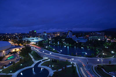 Huntsville Alabama Photograph - High Angle View Of A City, Big Spring by Panoramic Images