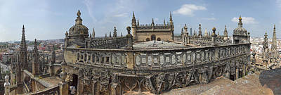 High Angle View Of The Seville Art Print