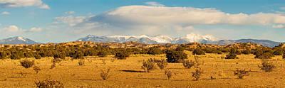 High Desert Plains Landscape Art Print