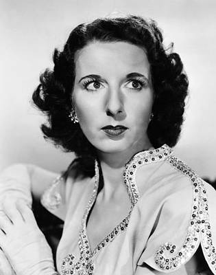Higher And Higher, Mary Wickes, 1943 Print by Everett