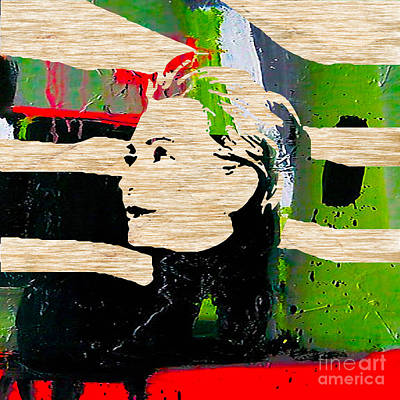 Hillary Clinton Mixed Media - Hillary Clinton by Marvin Blaine
