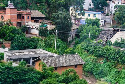 Photograph - Hillside Village by Robert Hebert