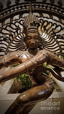Mannequin Dresses Rights Managed Images - Hindu God Royalty-Free Image by Luis Moya