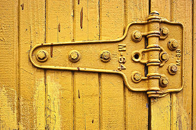 Locked Photograph - Hinged by Marcia Colelli
