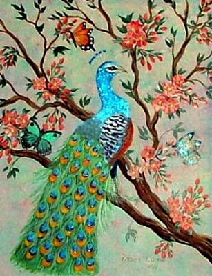 Painting - His Majesty by Fram Cama