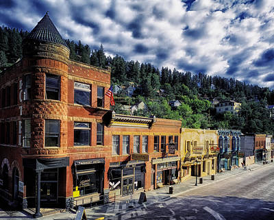 Historic Deadwood Art Print by Mountain Dreams