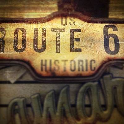 Photograph - Historic Route 66 by Kathleen Messmer