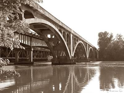 Historic Wil-cox Bridge Art Print by Matt Taylor