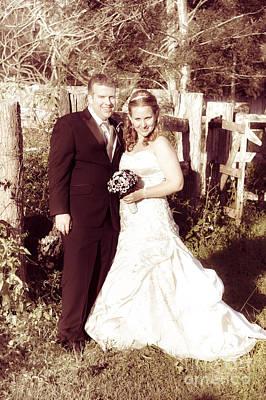 Nineteen Photograph - Historical Australian Wedding Couple by Jorgo Photography - Wall Art Gallery