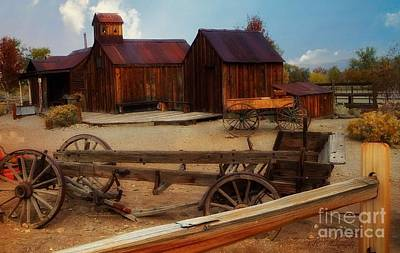 Photograph - Historical Ferretto Ranch II by Bobbee Rickard