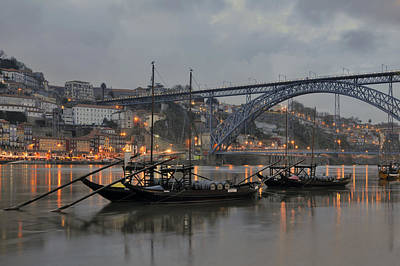 Luis Photograph - Historical Part Of Porto And The Douro River by Ayhan Altun
