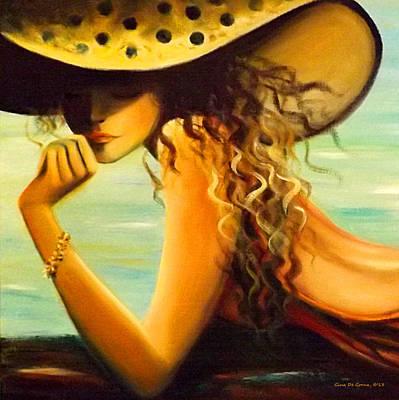 Painting - Hmmmmm by Gina De Gorna