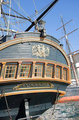 Photograph - Hms Surprise by Brenda Kean