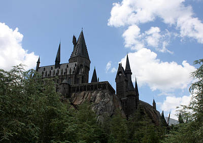 Photograph - Hogwarts Castle by David Nicholls