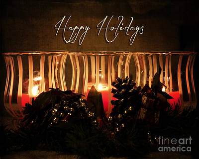 Photograph - Holiday Glow by Pam  Holdsworth