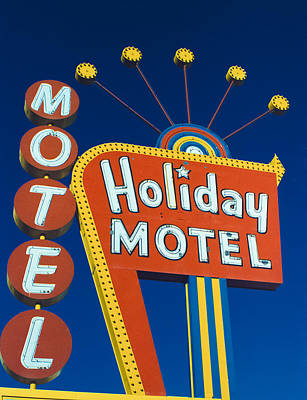 Holiday Motel Art Print by Matthew Bamberg