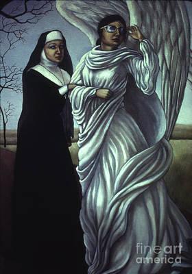 Holier Than Thou Art Print by Jane Whiting Chrzanoska