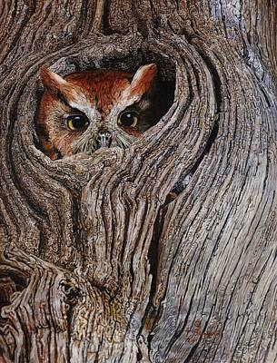 Painting - Hollowed Home by Terry Bungard