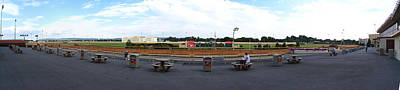 Hollywood Casino At Charles Town Races - 12121 Art Print by DC Photographer