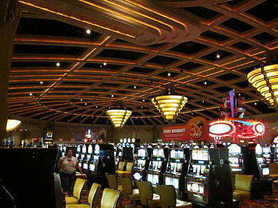 Hollywood Casino At Charles Town Races - 12127 Art Print by DC Photographer