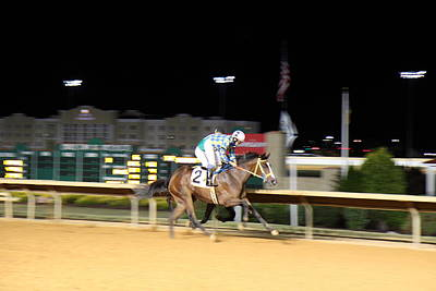 Hollywood Casino At Charles Town Races - 12128 Art Print by DC Photographer