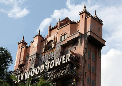 Photograph - Hollywood Tower by David Nicholls