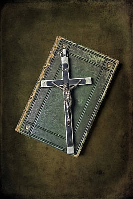 Jesus Photograph - Holy Book by Joana Kruse
