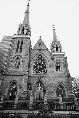 holy rosary cathedral headquarters of the roman catholic archdiocese of Vancouver BC Canada Art Print by Joe Fox
